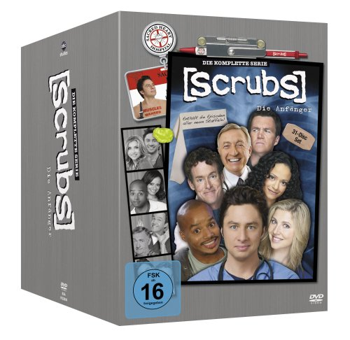 Scrubs: Die Anfänger - Die komplette Serie, Staffel 1-9 [31 DVDs] (Auto-video-dvd)