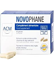 ACM novophane 60Capsules Perte de cheveux Alopécie cheveux et ongles Fragilité Repousse