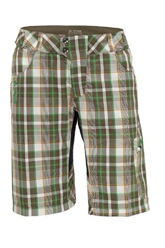 VAUDE craggy pantalon pour femme Vert - Camouflage