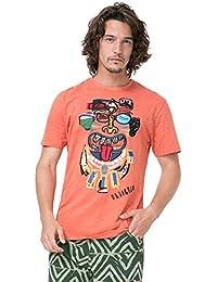 Desigual Tee-shirt Trenton Ocre 72t14g8