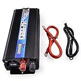 Spannungswandler Wechselrichter DC 24V auf AC 220V Auto Inverter,2000W Kfz Power Inverter