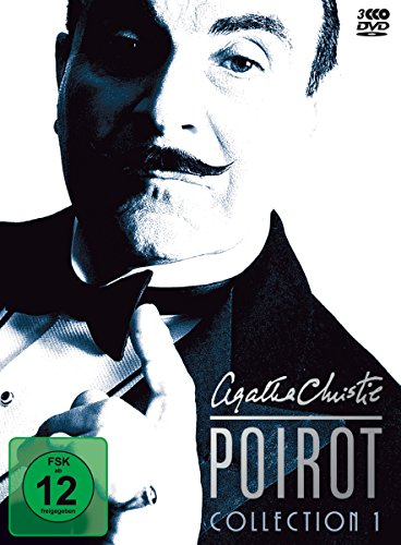 Agatha Christie - Poirot Collection 01 [3 DVDs] (Hercules-serie)