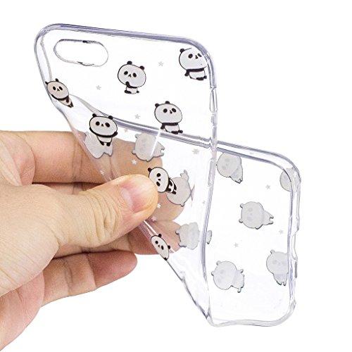 Hülle für Apple iPhone 6S Plus / 6 Plus , IJIA Transparente Krone (Queen) TPU Weich Silikon Stoßkasten Cover Handyhülle Schutzhülle Handytasche Schale Case Tasche für Apple iPhone 6S Plus / 6 Plus (5. LF6