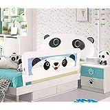 Evokids Panda Katlanabilir Çocuk Yatak Bariyeri - 140x52 cm