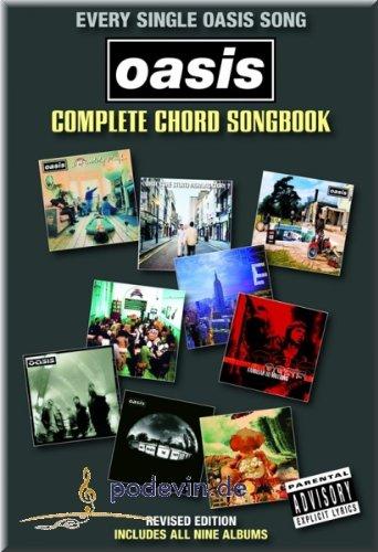 Preisvergleich Produktbild Oasis - Complete Chord Songbook - Gitarre Akkorde