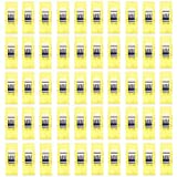 MObast Home Accessories Klammern für Quilt, Kunststoff, 2,7 x 1 x 1,5 cm, 50 Stück, gelb, 2.7 * 1 * 1.5cm