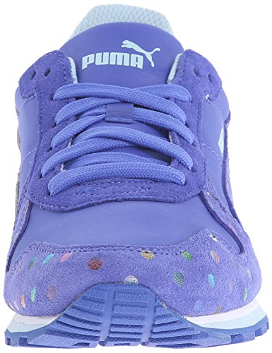 Puma ST Runner Dotfetti Jr Daim Baskets Dazzling Blue-Dazzling Blue