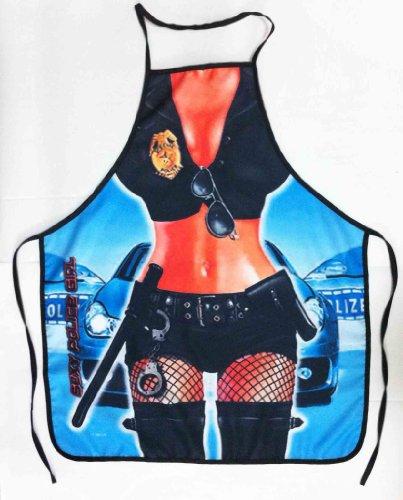 Polizei Frau Sexy Schürze Funny Creative Kochen Schürzen Halloween (Kostüme Fashion Polizei Womens)
