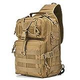 hopopower Sac à Bandoulière Tactique, Sac à Dos d'épaule Militaire Rover Sac à...