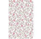 Klebefolie - Möbelfolie Rosa Blümchen - Biedermeier Look - 45