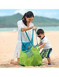Kinder Aufbewahrungsnetz Aufbewahrung Netz Tasche für Sandspielzeug Strand Mode