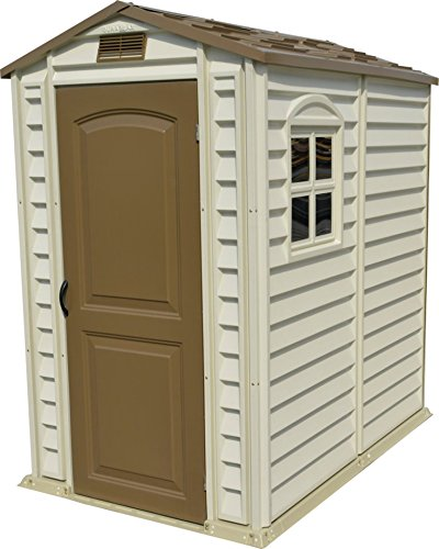 Duramax StorePro Garden Shed with Plastic Floor & Fixed Window