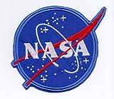 """Applikation Aufbügler Patches Stick Emblem Aufnäher Abzeichen """"NASA"""""""