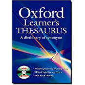 Oxford Learner's Thesaurus: A Dictionary of Synonyms. Wörterbuch