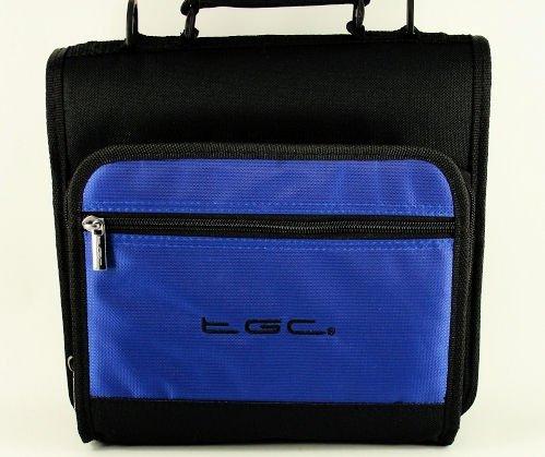 Neue Dreamy Blue &Black Deluxe 2 Fächern, Schultergurt, Tasche für das Google Nexus 10 Tablet, &, Zubehör)