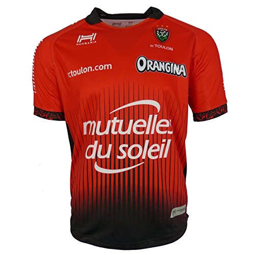 Hungaria Toulon 2017/18 Home S/S Replica Rugby Shirt - Red
