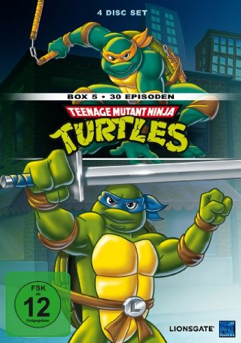 Turtles - Box 5 [4 DVDs] ()