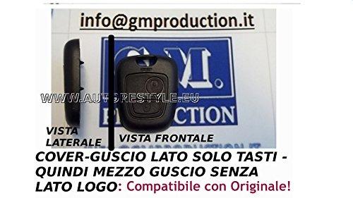 G.M. Production SOLO TASTI Guscio cover scocca chiave cambio deteriorata [controllare foto e dettagli compatibilità]