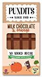 Pundits - Milk Chocolate Bar - with Natural Stevia...