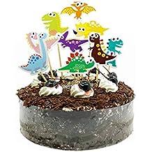 Amazon It Dinosauri Torta 5 7 Anni