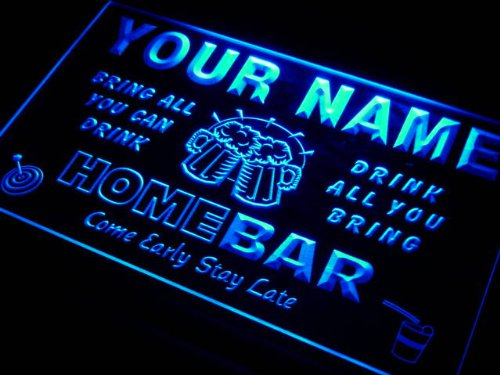 Image of q29451-b MCFARLANE Family Name Home Bar Beer Mug Cheers Neon Light Sign
