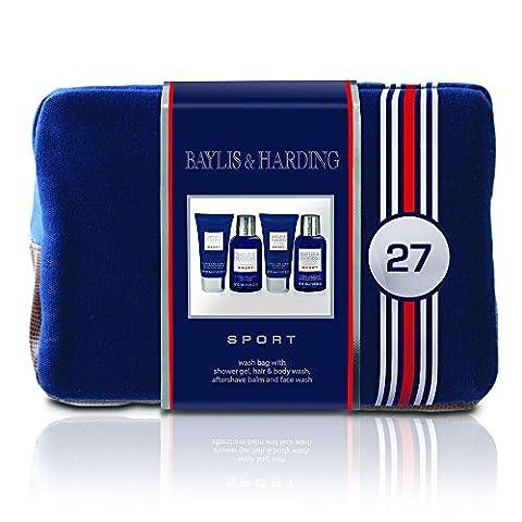 Baylis & Harding Coffret Cadeau Homme Sport, 4 Produits de