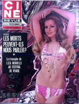 Cine Tele Revue 1972 - CINE TELE REVUE [No 35] du 31/08/1972
