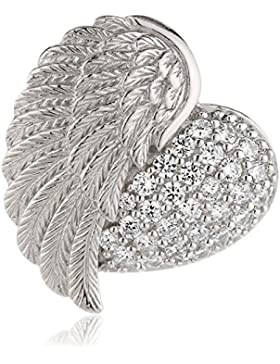 Engelsrufer Anhänger Herzflügel Silber