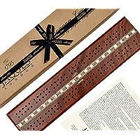 Tablero Cribbage - Caoba Tradicional - Jaques de Londres