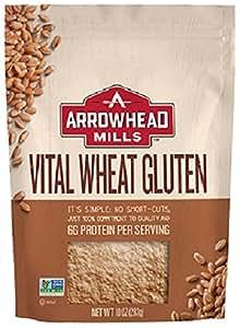 Arrowhead Mills, Vital Wheat Gluten, 10 oz (283 g)