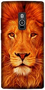 The Racoon Grip printed designer hard back mobile phone case cover for OnePlus 2. (Face of th)