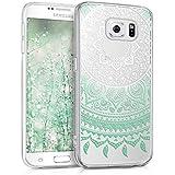 kwmobile Crystal Case Hülle für Samsung Galaxy S6 / S6 Duos - TPU Silikon Kunststoff Cover im Indische Sonne Design