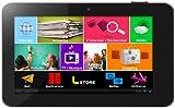Logicom Tablife 70 Tablette Tactile 7' (17,78 cm) 4 Go Processeur ARM Cortex A13 Core 1 Ghz Android 4.0.4 avec LIOS Logicom Interactive Operating System WiFi Noir