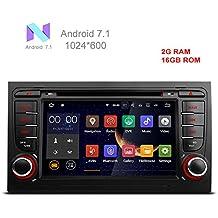 """freeauto 7""""Android 7.1Quad Core coche reproductor de DVD con pantalla Mirroring función & OBD2para Audi A4/S4/RS4/Seat Exeo"""