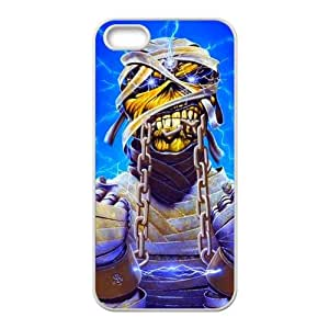 Custom Iron Maiden Band Popular Design Iphone 5,5s Case Cover- Best Protective Hard Plastic cover