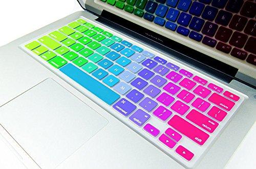 Rainbow Keyboard skin/Guard for Macbook Air/Pro13.3/15.4/17