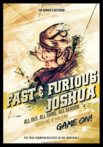Fast & Furious Joshua:  All Out, All Game, All Season: The Winner's Notebook (Inspirational Hockey) por Lemieux Gretzky