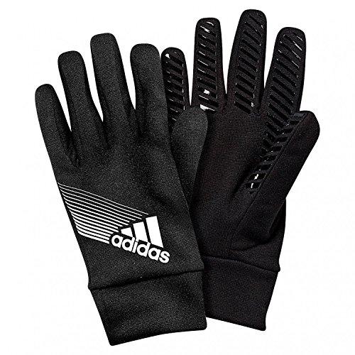 adidas Herren Handschuhe Fieldplayer Climaproof, Black/Silver, 9, W44097