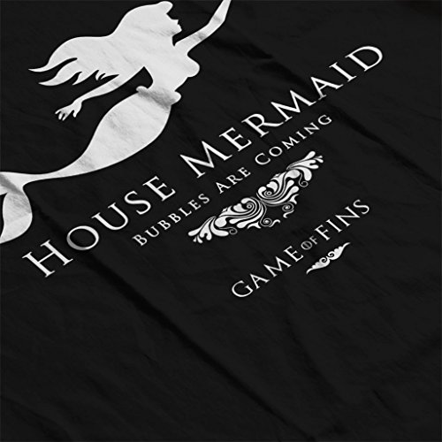 House Mermaid Bubbles Are Coming Game Of Thrones Women's Vest Black