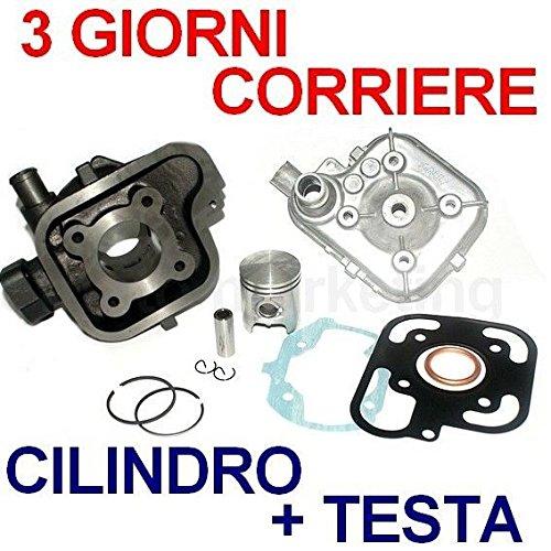 50 cc CILINDRO GRUPPO TERMICO PISTONE TESTA KIT per PEUGEOT LUDIX BLASTER 2T (Blaster Pistone)