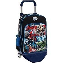 Marvel Avengers Street Mochila Escolar, 15.6 Litros, Color Azul