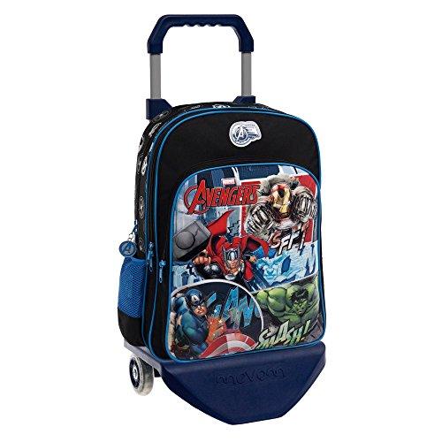 Marvel 24324M1 Avengers Street Mochila Escolar, 15.6 Litros, Color Azul