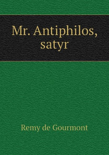 Mr. Antiphilos Satyr