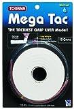 Tourna Mega TAC Grip - 10 rotoli di nastro per le mani (grip) da tennis