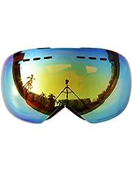 Supertrip TM Skibrille Snowboardbrille Snowboard Skibrillen für Herren Damen Jungen Kinder mit Dual-Vented Linse und F3 100% UV400 Schutz Anti-Fog-Beschichtung