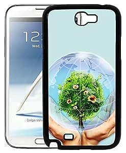 FCS Printed 2D Designer Hard Back Case For Samsung Galaxy Note II N7100