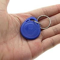 VANKER 5Pcs ABS RFID IC Clé Étiquette NFC Porte-clés Jeton TAG Mifare Anneau de clé