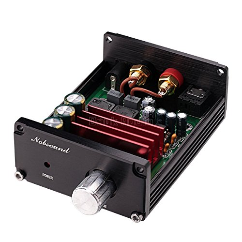 51GdjFVnf0L. SS500  - Nobsound 100W Subwoofer Digital Power Amplifier Audio Mini Amp with power supply (Black)