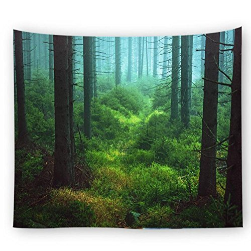Shhyy foresta della natura arazzi e tappezzeria parete appesa bohemien e hippy boho tenda arte muraria floreale coperta da picnic telo mare tappetino