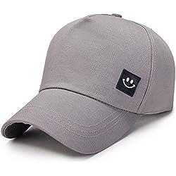 URIBAKY Casquettes de Baseball Hommes Unisexes Smile Smile Snapback Hat Hip-Hop réglable